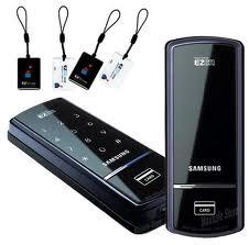 кодовый дверной замок Samsung EZON и смарт-карты